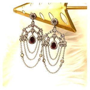Gorgeous chandelier earrings!